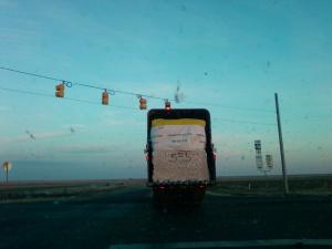 Adobe Walls Cotton Gin module moving truck