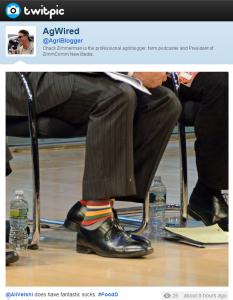 GMO socks?