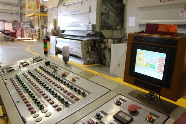 Cotton gin control panel
