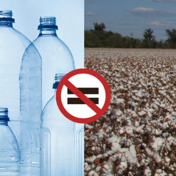 plastic vs cotton