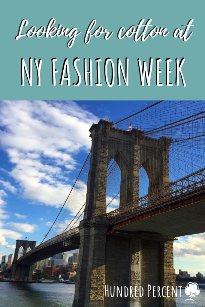 cotton 2019 NY Fashion Week