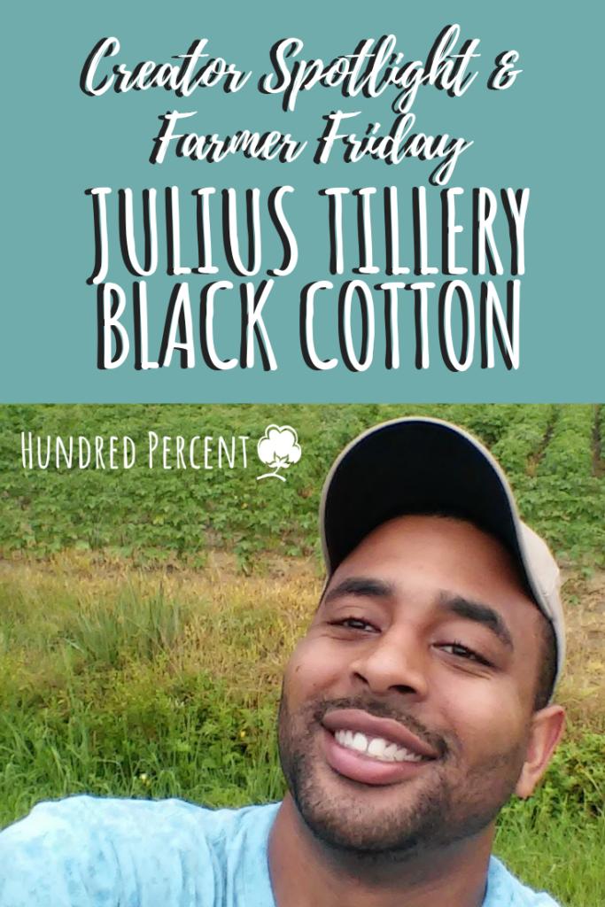 Julius Tillery Black Cotton