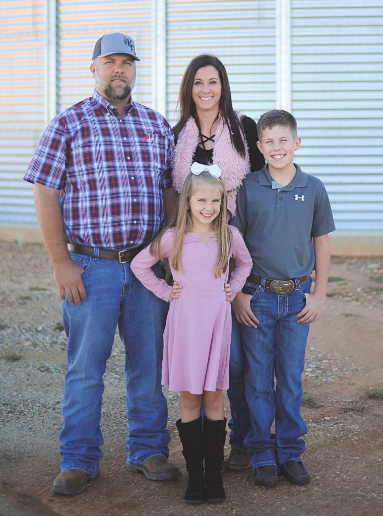 Lindsay Kimbrell texas farmer